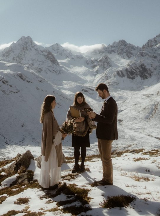 winter elopement tirol austria